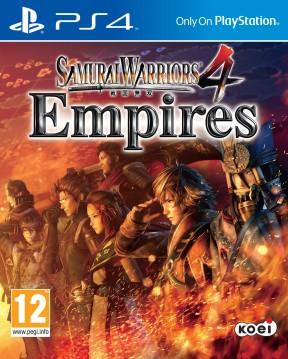 Samurai Warriors 4: Empires PS4 Cover