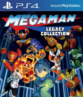 Mega Man Legacy Collection PS4 Cover