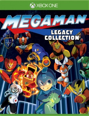 Mega Man Legacy Collection Xbox One Cover
