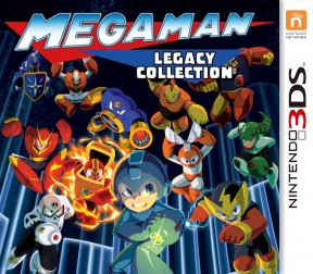Mega Man Legacy Collection 3DS Cover