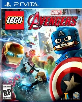 LEGO Marvel's Avengers PS Vita Cover