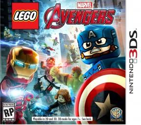 LEGO Marvel's Avengers 3DS Cover