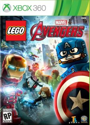 LEGO Marvel's Avengers Xbox 360 Cover
