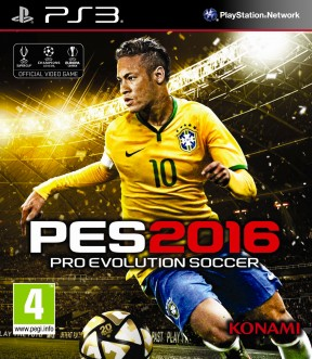Pro Evolution Soccer 2016 PS3 Cover