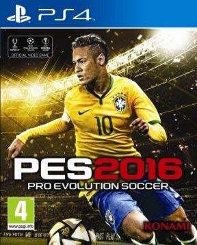 Pro Evolution Soccer 2016 PS4 Cover