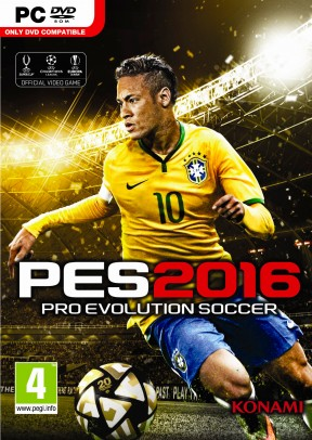 Pro Evolution Soccer 2016 PC Cover