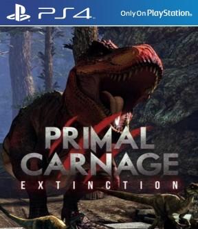 Primal Carnage: Extinction PS4 Cover