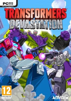 Transformers: Devastation PC Cover
