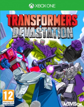 Transformers: Devastation Xbox One Cover