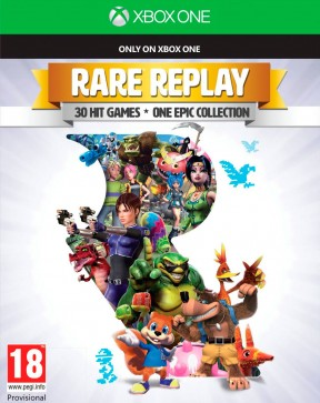 Rare Replay Xbox One Cover