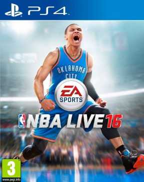 NBA Live 16 PS4 Cover