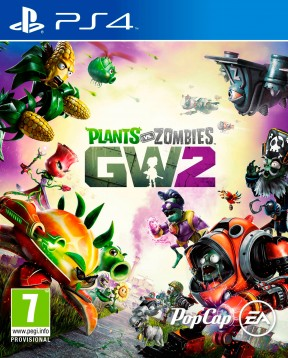 Plants vs Zombies: Garden Warfare 2 PS4 Cover