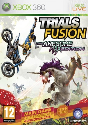 Trials Fusion - The Awesome Level Max Edition Xbox 360 Cover