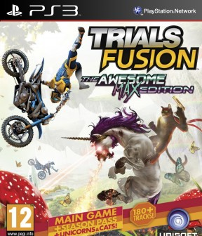 Trials Fusion - The Awesome Level Max Edition PS3 Cover