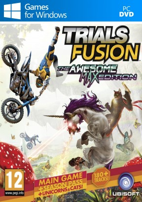 Trials Fusion - The Awesome Level Max Edition PC Cover