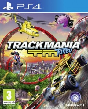 TrackMania Turbo PS4 Cover