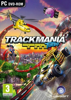 TrackMania Turbo PC Cover