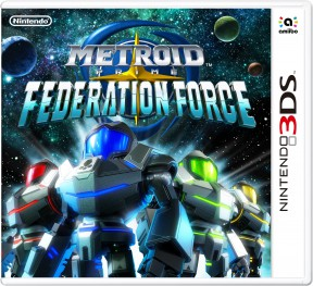 Metroid Prime: Federation Force 3DS Cover