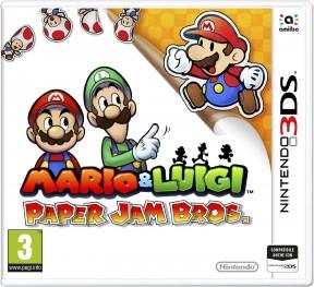 Mario & Luigi: Paper Jam Bros. 3DS Cover