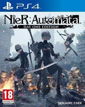 NieR Automata PS4 Cover