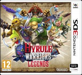 Hyrule Warriors: Legends 3DS Cover