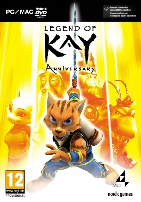 Legend of Kay Anniversary PC Cover