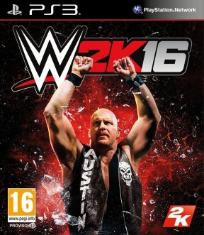 WWE 2K16 PS3 Cover