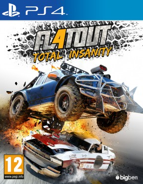 FlatOut 4: Total Insanity PS4 Cover