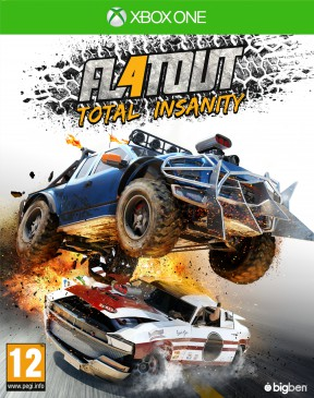 FlatOut 4: Total Insanity Xbox One Cover