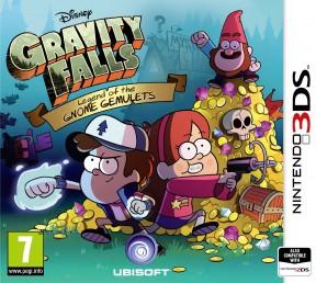 Gravity Falls: La Leggenda dei Gemuleti Gnomi 3DS Cover