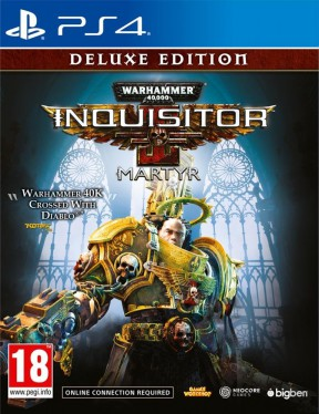 Warhammer 40,000: Inquisitor: Martyr PS4 Cover