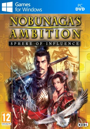 Nobunaga's Ambition: Sphere of Influence PC Cover