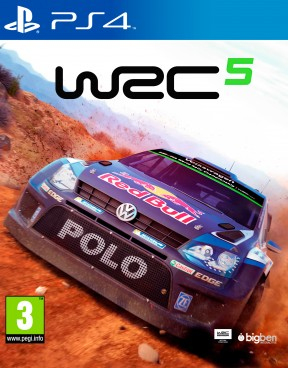 World Rally Championship 5 PS4 Cover