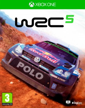World Rally Championship 5 Xbox One Cover
