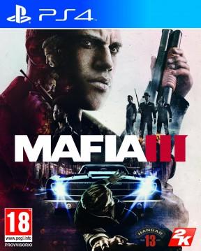 Mafia III PS4 Cover