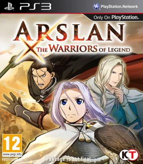 Arslan: The Warriors of Legend PS3 Cover