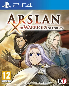 Arslan: The Warriors of Legend PS4 Cover