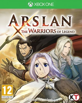 Arslan: The Warriors of Legend Xbox One Cover