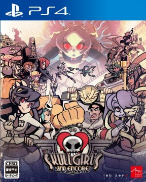 Skullgirls 2nd Encore PS4 Cover