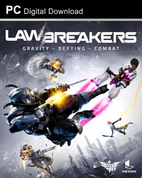 LawBreakers PC Cover