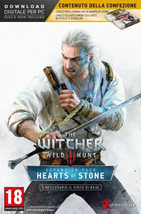 The Witcher 3: Hearts of Stone PC Cover