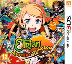 Etrian Mystery Dungeon 3DS Cover