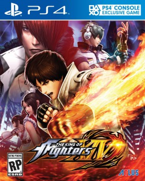 The King of Fighters XIV PS4 Cover
