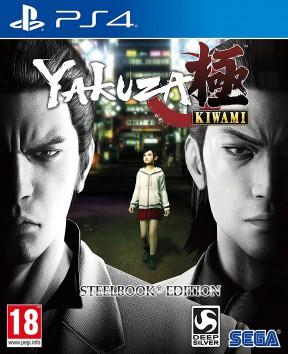 Yakuza: Kiwami PS4 Cover