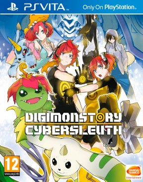 Digimon Story: Cyber Sleuth PS Vita Cover