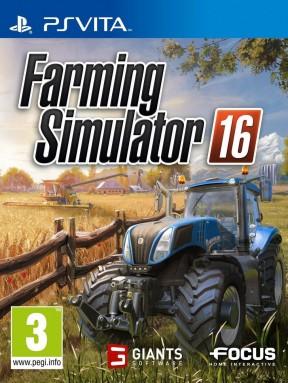 Farming Simulator 16 PS Vita Cover
