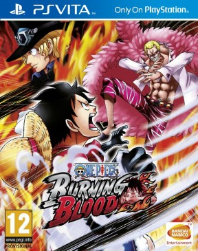 One Piece: Burning Blood PS Vita Cover