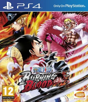 One Piece: Burning Blood PS4 Cover