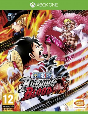 One Piece: Burning Blood Xbox One Cover