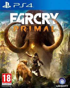 Far Cry Primal PS4 Cover